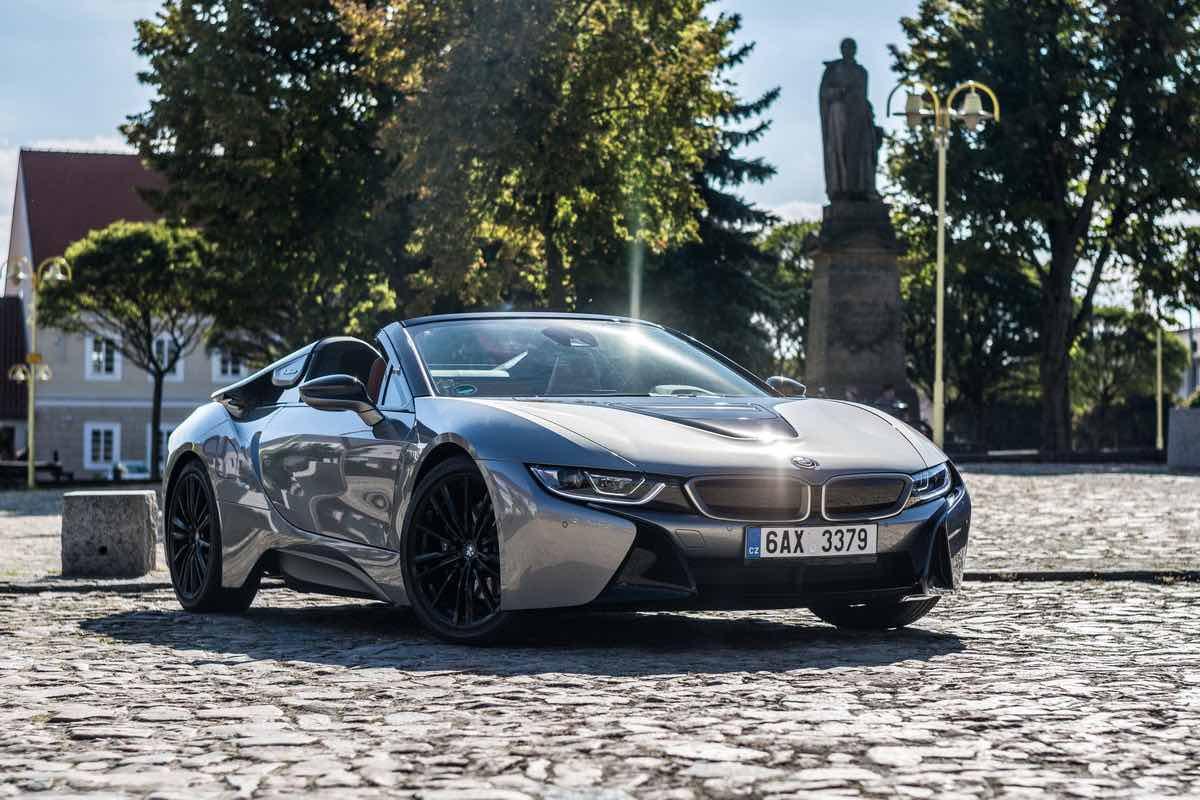 2010-talet: BMW i8 (2014)